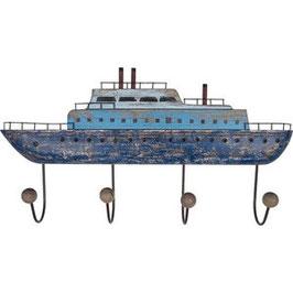 Maritime Holz Garderobe Kreuzfahrtschiff