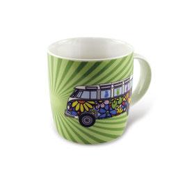 Original VW Bulli Keramik Becher T1 Love Bus