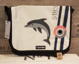 NoFish Umhängetasche Sail Gr. L Delfin NF89