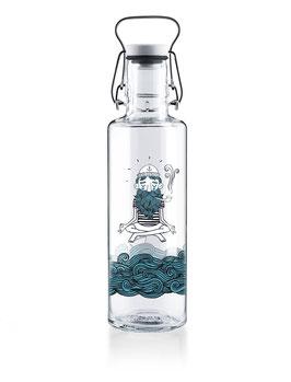 "Soulbottles Trinkflasche aus Glas ""Soulsailor"" 0,6l"
