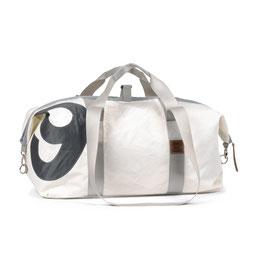 360° Reisetasche Kutter XL weiß Zahl grau