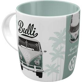 Original VW Bulli Keramik Becher Good things
