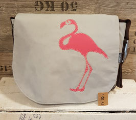 Canvasco Segeltuch Bag S Flamingo C8