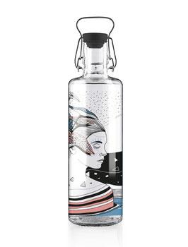 """Soulbottles Trinkflasche aus Glas """"Spirit of Nature"""" 1,0l"""