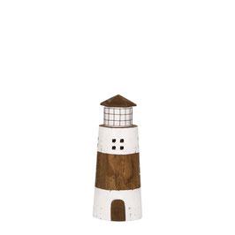 Holz Leuchtturm Nature in 3 Größen