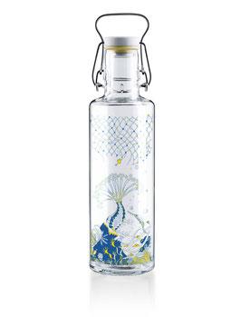 """Soulbottles Trinkflasche aus Glas """"Korallenreich x Bracenet"""" 0,6l"""