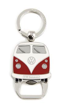 VW Bulli Schlüsselanhänger mit Flaschenöffner in 7 Varianten