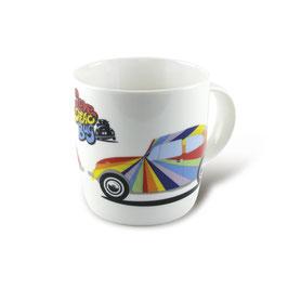 Original VW Käfer Keramik Becher Streifen