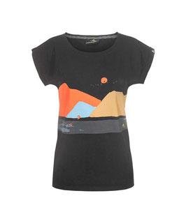 Schwerelosigkite Shirt Schöne Aussicht schw. für Mädels