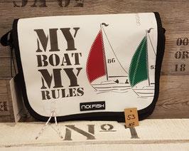 NoFish Umhängetasche Sail Gr.M Rules NF53
