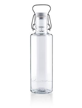 """Soulbottles Trinkflasche aus Glas """"Einfach nur Wasser"""" 0,6l"""
