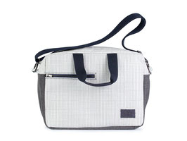 727 Sailbags Business Messenger Bag Light Grey