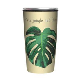 Kaffee to go Thermobecher SlideCup Jungle