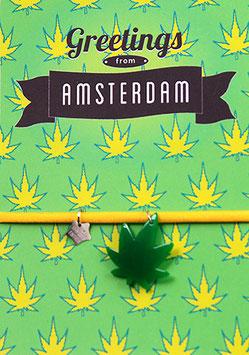 GREETINGS AMSTERDAM