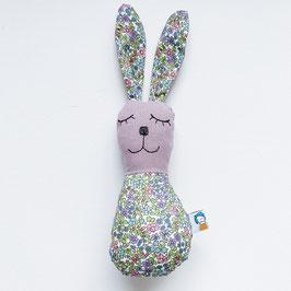 Blümchen-Bunny-Rassel violett/grün