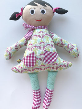 "Retroblumen-Lotte ""pink-mint"""