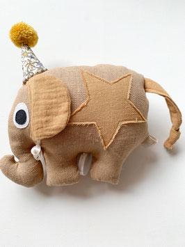 Zirkuselefanten Spieluhr sand
