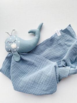 Herr Wal blau