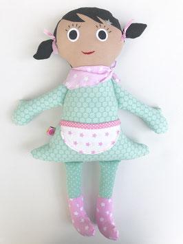 Sommer-Lotte mint/rosa
