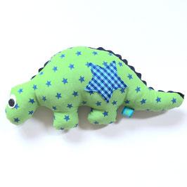 Dino-Rassel Sternchen grün/blau