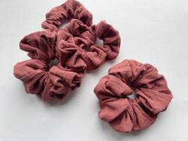 Haargummi terracotta gross und klein