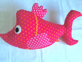 Grosser Fisch pink
