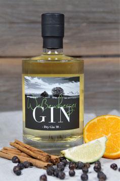 Weißensberger Gin 38 aus eigener Herstellung