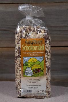 Allgäuer Schokomüsli 750g
