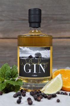 Weißensberger Gin - Likör aus eigener Herstellung