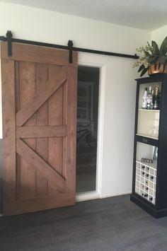 Loft deur, inclusief beslag & montage