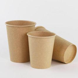 Vaso de papel encerado 12 oz KRAFT