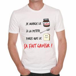 """T-Shirt """"Je mange"""""""