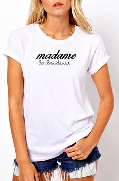 "T-Shirt ""madame."""