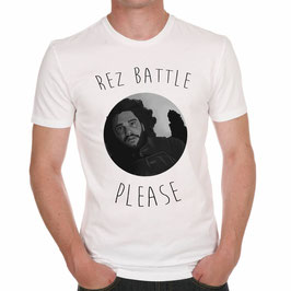 "T-Shirt ""Rez Battle Please"""