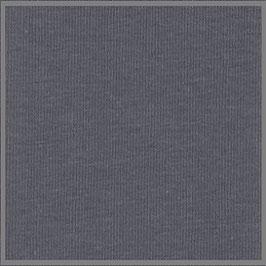 Jersey Uni granit grau