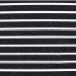 Jersey Multicolor Streifen Klein Schwarz-Weiß
