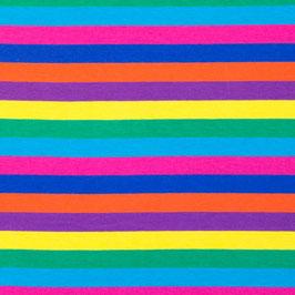 Jersey Streifen Multicolor Gelb-Violett