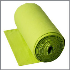 Bündchen Uni lime green