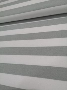 Blockstreifen (grau-weiß)