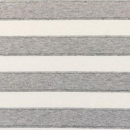 Jersey Streifen Mit Punktlinie Off Weiß