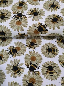 Sonnenblume Biene