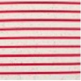 Jersey Multicolor Streifen Klein Off Weiß-Rot