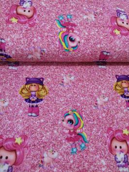 Einhorn Mädchen (pink)