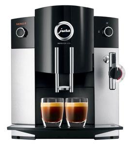 Kaffeemaschine Jura Impressa C55 Platin