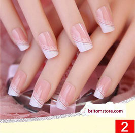 Airbrush Nail Tips / künstliche Nägel