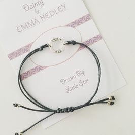 Dainty Hoop Personalised Friendship Bracelet