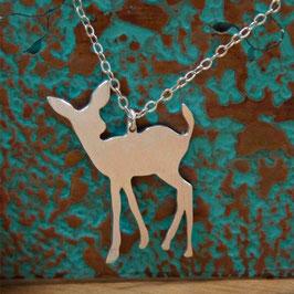 "18"" Deer Pendant"