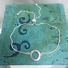 Dainty Hoop Bracelet