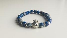 Silver blue Lion