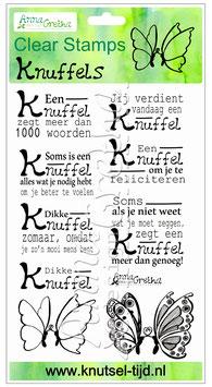 Stempelset Knuffels (10,5 x 16 cm)